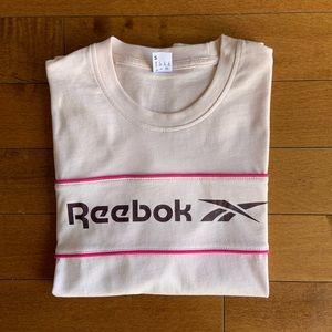 Reebok | Classic linear pink t-shirt